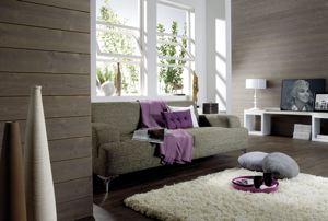 Les couleurs sobres et l'aspect brossé sont les principales tendances du moment. Photo : Lapeyre