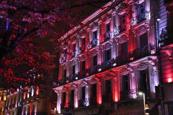 Illumination du Boulevard de la République Agen